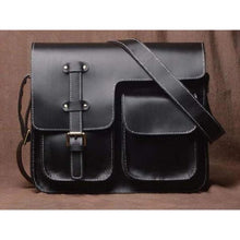 Load image into Gallery viewer, Men's Leather Crazy Horse Messenger Bag & Satchel Premium Leather