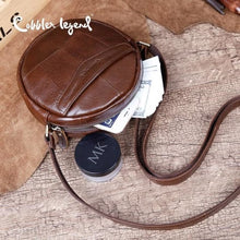 Load image into Gallery viewer, Mini Leather Crossbody/shoulder Bag for Women & Girls Premium Leather