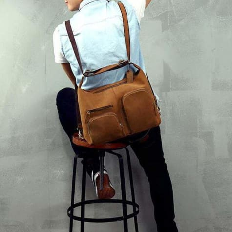 Modern Fashion Leather Messenger,crossbody & Shoulder Bag Premium Leather