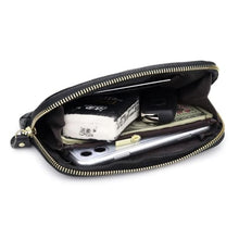 Load image into Gallery viewer, New Morning Authentic Leather Clutch/wrist Wallet Premium Leather