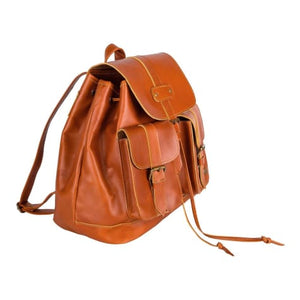 Nomad Authentic Leather City and Cross Country Backpack/travel Bag Premium Leather