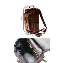 Load image into Gallery viewer, Nomad Crazy Horse Leather Multifunctional Travel Backpack Premium Leather