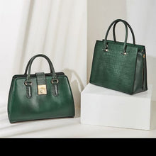 Load image into Gallery viewer, Nova Green Napa Leather Hand and Wrist Bag Premium Leather