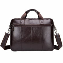 Load image into Gallery viewer, Nubuck Leather Business Cross Body Messenger Bag Premium Leather