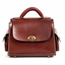 Load image into Gallery viewer, Opulant Leather Fashion Women's Crossbody Satchel & Handbag Brown Premium Leather