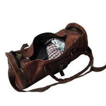 Load image into Gallery viewer, Original Classic Goat Leather Travel/duffle Bag Premium Leather