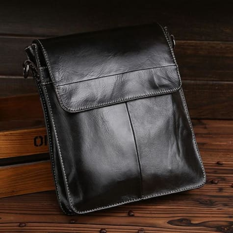 Ox Leather Business Messenger and Shoulder Bag Premium Leather