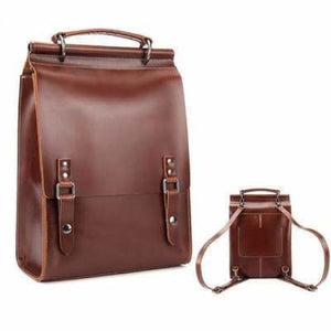 Polished Classic Leather Rucksacks/backpack & Purse Premium Leather