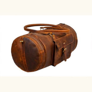 Premium Leather full Grain Cowhide Travel Bag Leather