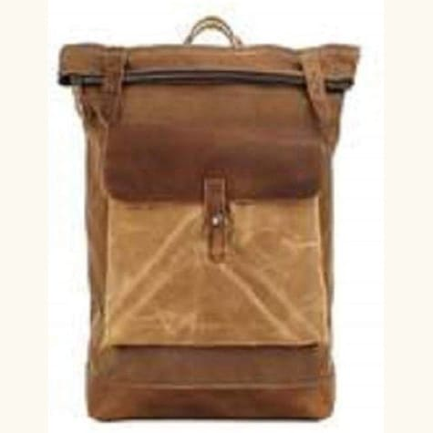 Quality Canvas Travel Backpack Waterproof Waxed