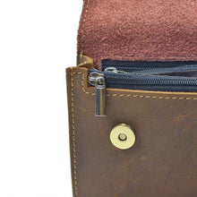 Load image into Gallery viewer, Réale Crazy Horse Leather side Saddle Belt Bag Premium Leather