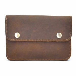 Réale Crazy Horse Leather side Saddle Belt Bag Premium Leather