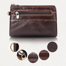 Load image into Gallery viewer, Retro Authentic Leather Pouch Wrist Wallet Coin Purse Premium Leather