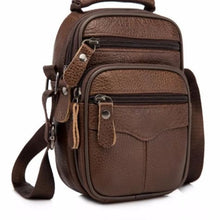 Load image into Gallery viewer, Rococo Leather Backpack/messenger & Shoulder Bag Premium Leather