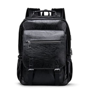 Sales Person's True Leather Business & Travel/laptop Backpack Premium Leather