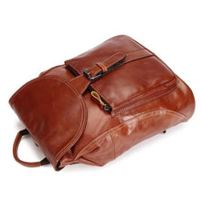 Load image into Gallery viewer, Sienna Oil Waxed Leather Shoulder Bag Backpack Premium Leather