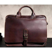 Load image into Gallery viewer, Sleek Leather Briefcase & Messenger Bag/laptop Bag Premium Leather