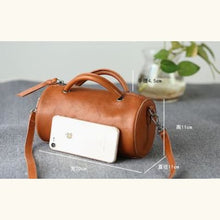 Load image into Gallery viewer, Small Bonafide Leather Handbag/purse/travel Tote Premium Leather