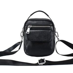 Small Pukka Leather Cross Body Shoulder Bag Premium Leather
