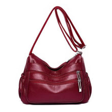 Load image into Gallery viewer, Soft Sheepskin Leather Luxury Handbag Premium Leather