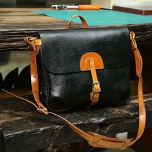 Load image into Gallery viewer, Stunning Imported Leather Satchel & Messenger Bag Premium Leather