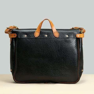 Stunning Imported Leather Satchel & Messenger Bag Premium Leather