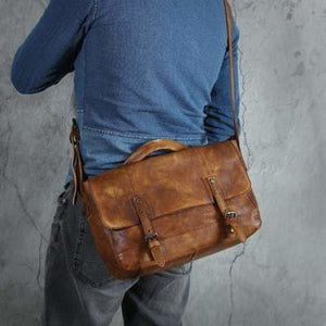 Trendy Handcrafted Leather Crossbody & Messenger Bag Premium Leather