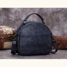 Load image into Gallery viewer, Très Belle full Grain Leather Satchel/laptop/shoulder Bag Grey Premium Leather
