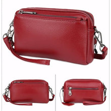 Load image into Gallery viewer, True Leather Ladies Small Square Casual Messenger Handbag Premium Leather