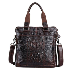 Upscale Bull Leather Messenger/shoulder Bag Premium Leather