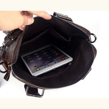Load image into Gallery viewer, Upscale Bull Leather Messenger/shoulder Bag Premium Leather