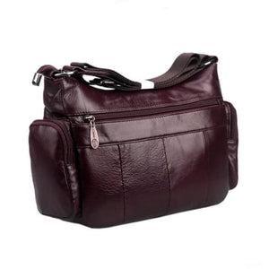 Vintage Leather Shoulder Bag for Women Premium Leather
