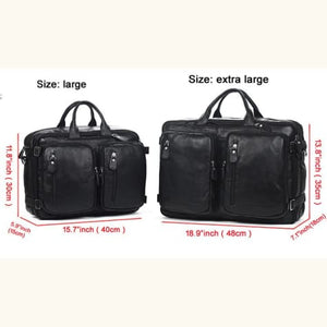 Willow Multi-function full Grain Leather Travel Bag Premium Leather