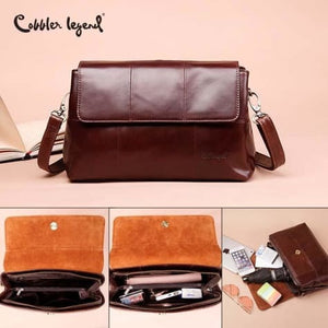 Women's Elegant Vintage Crossbody & Shoulder Bag Premium Leather