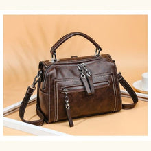 Load image into Gallery viewer, Women's Leather Backpack over Shoulder Travel Premium Leather