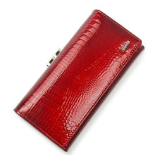 Load image into Gallery viewer, Women's Luxury Patent Leather Clutch Purse Premium Leather