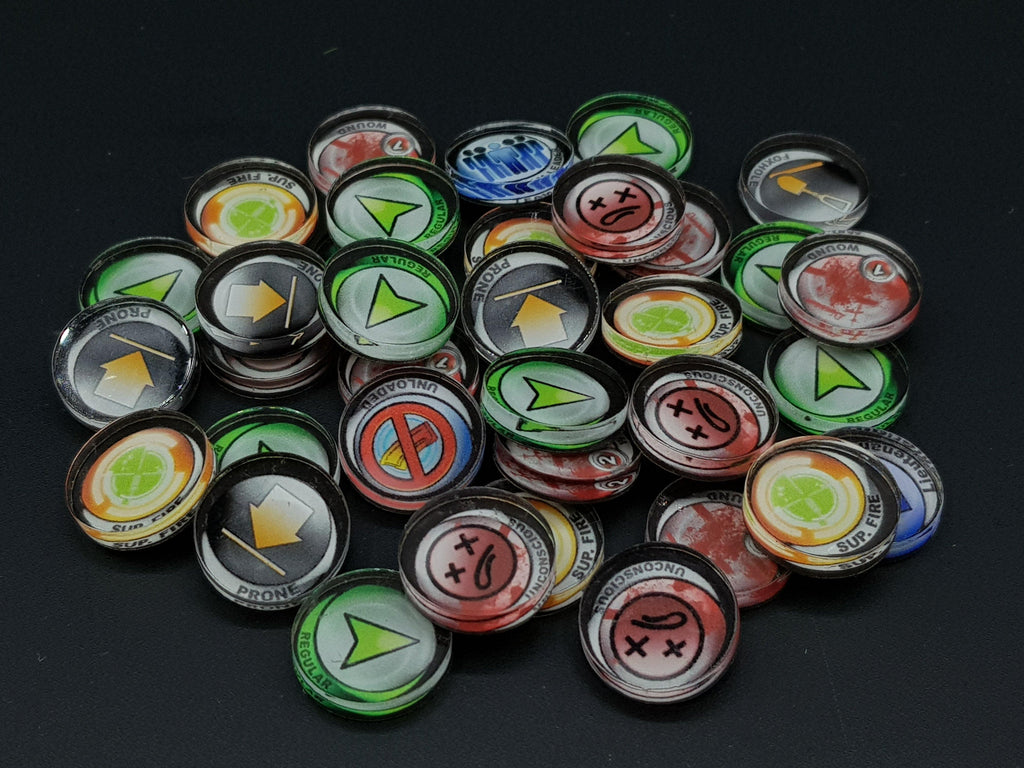 Infinity Accessories & Tokens