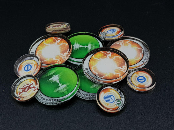 Micro Art Studio Infinity Tokens Deployables #3 (12) P00044 - Hobby Heaven
