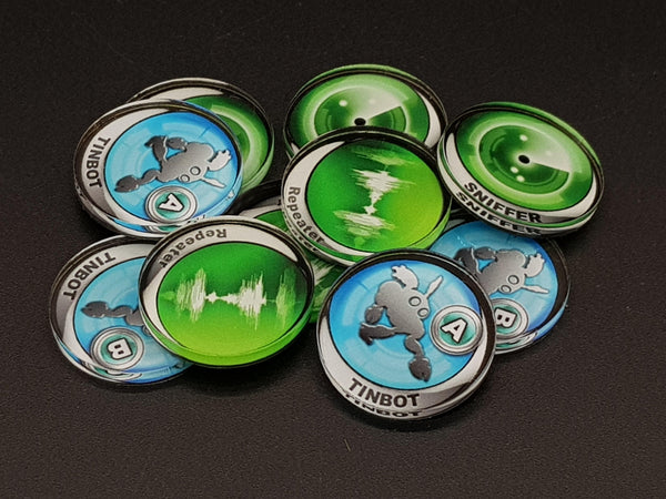 Micro Art Studio Infinity Tokens Equipment 01 (10) P00112 - Hobby Heaven