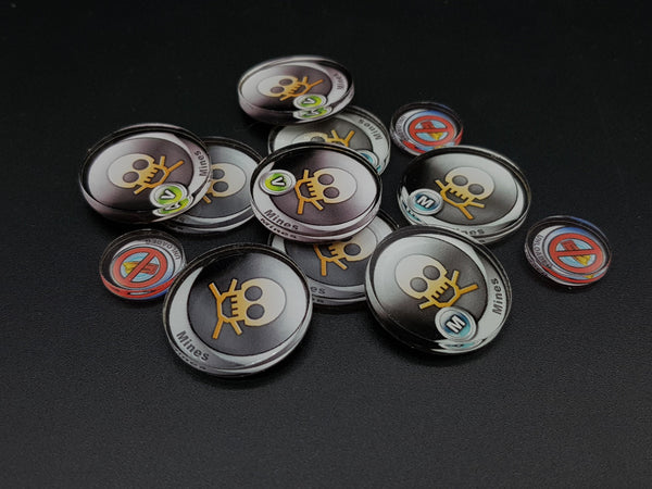 Micro Art Studio Infinity Tokens Deployables #2 (12) P00043 - Hobby Heaven