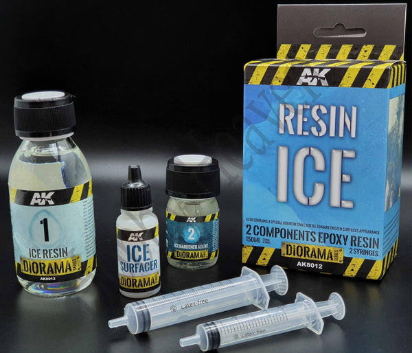 AK Interactive Terrains Ice w Components Diorama Effects - Hobby Heaven
