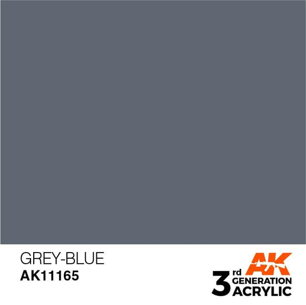 AK Interactive 3rd Gen Grey-Blue 17ml - Hobby Heaven
