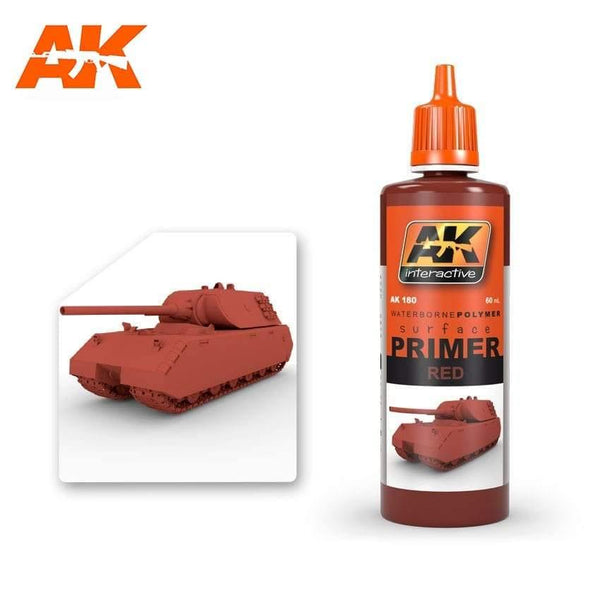 AK Interactive Red Primer 60ml - Hobby Heaven