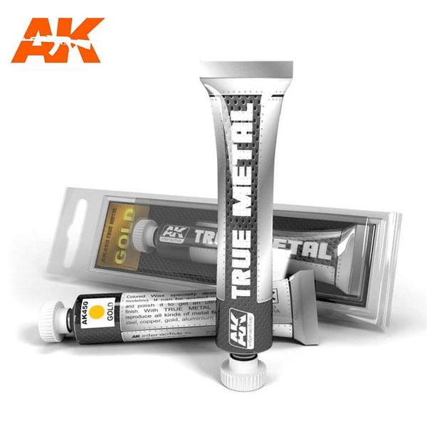 AK Interactive True Metal Gold - Hobby Heaven