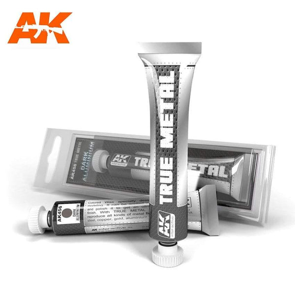 AK Interactive True Metal Dark Aluminium - Hobby Heaven