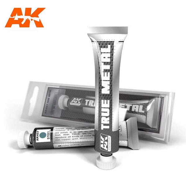 AK Interactive True Metal Steel - Hobby Heaven