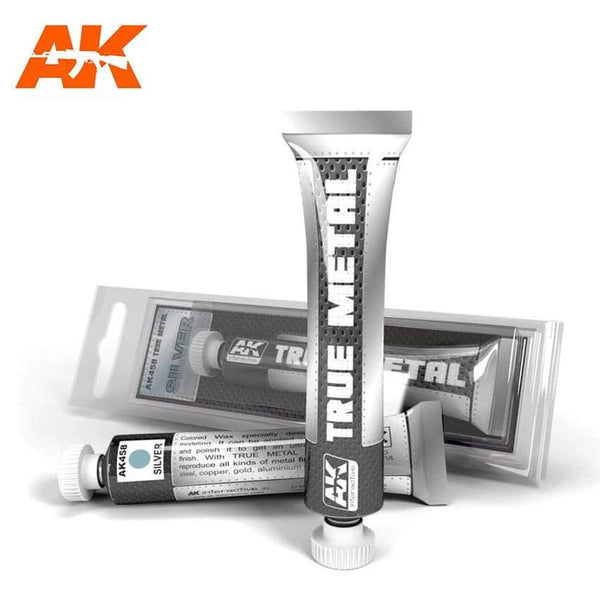 AK Interactive True Metal Silver - Hobby Heaven