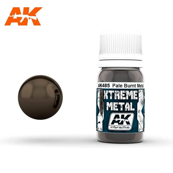 AK Interactive XTREME METAL Pale Burnt Metal 30ml - Hobby Heaven