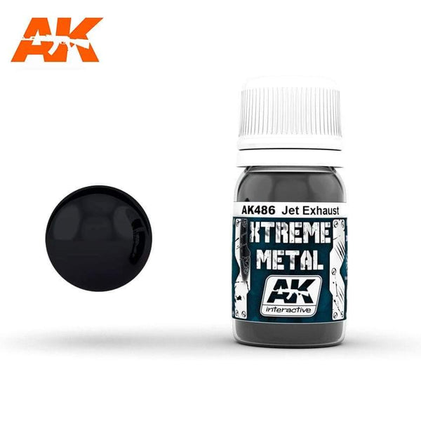AK Interactive XTREME METAL Jet Exhaust 30ml - Hobby Heaven