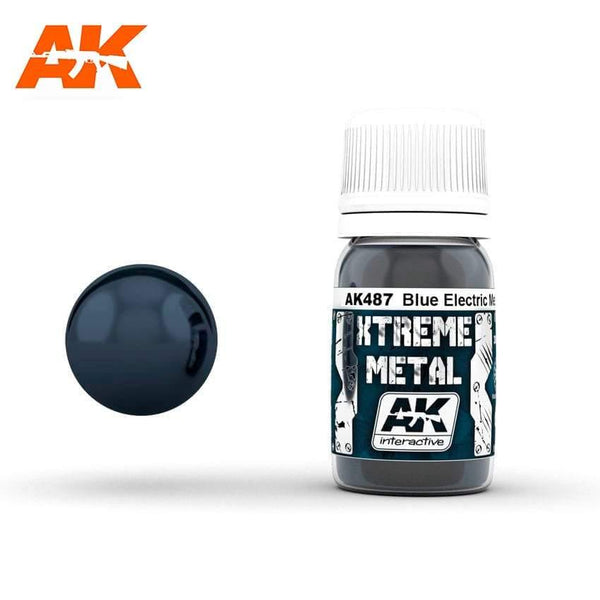 AK Interactive XTREME METAL Metalic Blue 30ml - Hobby Heaven